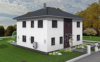 stadtvilla 178 Strasse links 3D small